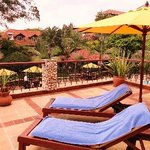 relax at the pool before going on safari and adventure