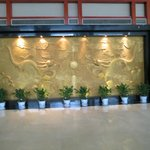  Mural in lobby
