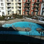 View of the outdoor pool