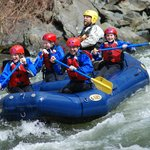  Our 1st White Water Rafting experience!