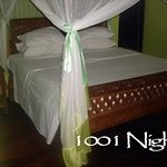 A Double Bed At 1001 Nights