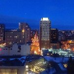  Night View, from my room, of the Byward Market and the Gatineau Hills!