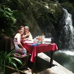  Private lunch at the waterfall
