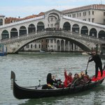 Rialto Bridge and Gondola