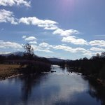  The River Spey next to the hotel.