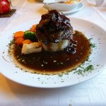 Calves Liver on mashed potato