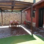  Cortile privato del b&amp;b dove poter  fare colazione