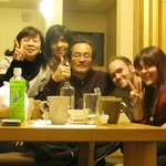 Us with Jun-San and the nice ladies!