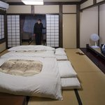 A spacious room by Japanese standards