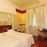Twin Room at Antares Hotel Rubens Milan