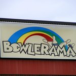 Bowlerama Sign