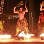 Polynesian Hula Show on Center Stage.