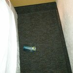 empty soda can found under the bed