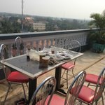 "King Fy Battambang: the ""private terrace"""
