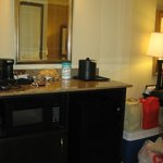 Kitchenette area in King Suite