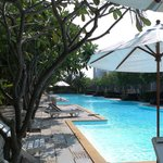 Swimming pool Franjipani hotel Hua Hin