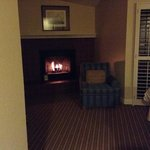  bodega Bay Hotel Fireplace in room