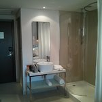 Washbasin and Shower areas as seen from inside of room