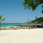 direct beach access (Anse Kerlan)