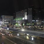 Picture of Kyoto Station, taken from room 402 at Matsumoto Ryokan