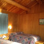  Inside our cabin