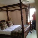  Four poster bed in the King room