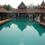 Refreshing and clean pool & bar