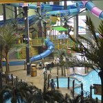  View of waterpark from our room