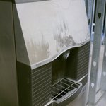  dust coated ice machine