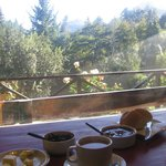  Vista desde el desayuno