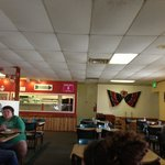 Inside the Mexican Way Cafe