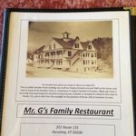 Mr G&#39;s Restaurant