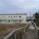  The Savannah Inn from the beach