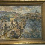 painting of Charles bridge