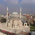 the view from the terrasse ( Laleli camii)