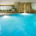  Our indoor pool is a great place to meet and relax