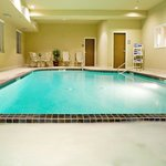  Slip into the hot tub or swim laps in the pool.