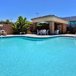  Relax, swim, or meet with friends at our outdoor pool