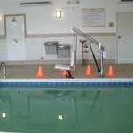  pool with handicap chair