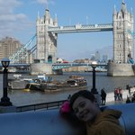 Ed The Duck at Tower Bridge!