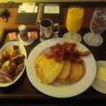  Pancakes room service