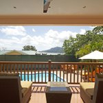  Exclusive Villa - Balcony/Veranda Overlooking Private Pool Area