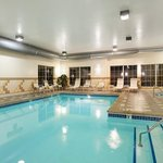  Spacious indoor swimming pool