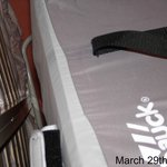 baby travel cot/ buggy under bed