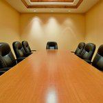 Quiet, professional Board Room for up to 10 people!