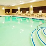 Relax in our indoor pool, open all year.