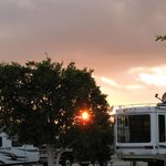  Setting sun - Orange Grove RV Park