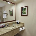 Guest Bathroom with Bath & Body Works amenities