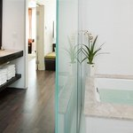  Presidential Suite Master Bath with spa in.spired amenities