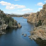 Watson Lake amongst the rocks